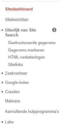 Markeer je rich data met de Google hulpprogramma's voor webmasters.